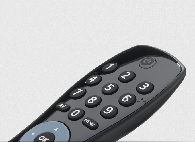 URC6410 Simple TV Remote