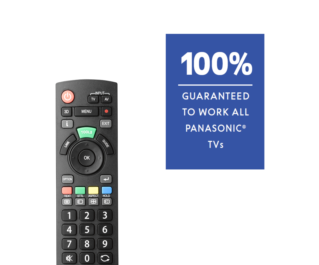 URC1914 Panasonic TV Remote