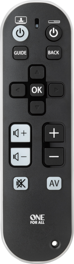 URC6810 Zapper TV Remote