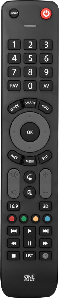 URC7115 Evolve TV Remote